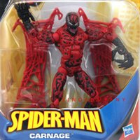 Wholesale Action Man Hasbro - By Marvel Universe Hasbro NEW 6'' Spider-Man Classic CARNAGE capture webs legends Action Figure Toy Hot Birthday Gift For Boy