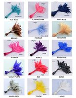Wholesale Sinamay Cocktail Hat - NEW FREE SHIPPING,14-19cm cocktail feather for fascinator sinamay hat party mask wedding hat,15 COLOURS