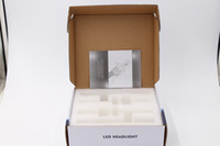 Wholesale Drl Light Kit - 1Set H4 9003 HB2 50w 8000lm For Philips Lumileds Car LED Headlight Kit High Low Dual Beam 6500K Super White DRL Fog Light Bulb