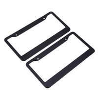 Wholesale car license plate anti - XC - TP 091 USA License Plate Frame Aluminium Alloy Durable for Car Truck RV Mini-van etc Prevent Plate Number from Losing