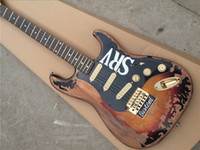 Stevie Ray Vaughan Hommage SRV Number One ST Guitare électrique Vintage Brown Fini