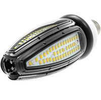 körfezi tabanı toptan satış-30 W 40 W 50 W LED mısır ampul ışıkları E26 E27 E39 E40 vida baz yüksek bay gölgelik ışık 120Lm / W CFL HID değiştirme AC100-277V