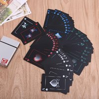 Wholesale Adult Poker - Adult Games Poker Waterproof Frosted PVC Poker Playing Cards Collection Board Game Gift With Box q170687