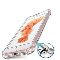 Wholesale Smart Buy Wholesale - Transparent Clear TPU Shockproof Back Cover Slim Smart Phone Case Bulk Buy From China For Iphone 7 plus