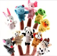 Wholesale Baby Wholesale Supplier - Animal Finger Puppets Professional baby&kids Supplier For Escrow Payment 1000pcs lot 6g