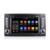 Wholesale Dvd Gps Audi A4 - Android 5.1 Car DVD Radio Player Multimedia System RK3188 With Wifi DAB CanBus for Audi A4 (2002-2007) SEAT EXEO (2009-2012) S4 RS4