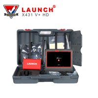 Wholesale Launch Car Diagnostic Computer - LAUNCH X431 V+ Heavy Duty Truck Diagnostic Tool HD Scanner Based On Android Computer&Adatpers Box for 24V car scan tool
