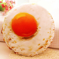 Wholesale Egg Shape Fried - Personality Creative Simulation Of Creative Fried Eggs Pillow Lunch Break Pillow Christmas Birthday Doll Gift