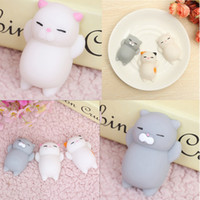 Wholesale Squishy Original - Newest Free Shipping Hasbro Toy Kawaii Original Japan Lazy Cat Mochi Decompress Squishy Squeeze Cat Healing Toy Mini Gifts for Kids