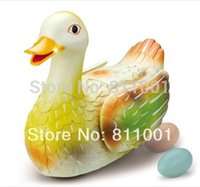 Wholesale Singing Can - Wholesale-Promotion amusing duck which can lay eggs and sing while running, play things electric toys for kids etc