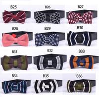 ingrosso cravatte coreane-Cravatta cravatta da uomo LJ02 di moda casual da uomo cravatta a farfalla coreana da uomo