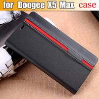 Wholesale Mix X5 - Wholesale- Doogee X5 MAX Case Flip Leather Luxury Fashion Stand Shell Cover Case For Doogee X5 MAX Pro With Phone Holder Mix Color