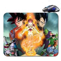 Wholesale Top Quality Notebooks - Free Shipping Anime Dragon Ball Z Top Sellig High Quality Custom Print Fashion Durable Notebook Gaming Rubber Mouse Pad