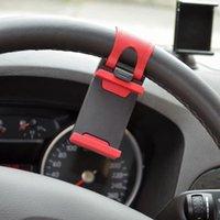 iphone jant toptan satış-Evrensel Direksiyon Cep Telefonu Dağı Araç Tutucu iphone 7 7 artı Samsung Smartphone GPS için
