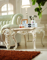 Wholesale hot selling Style Italian Dining Table Solid Wood Italy Style Luxury marble Dining Table Set p10121