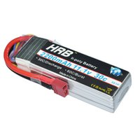 Wholesale Hrb Battery - 3s lipo battery HRB 3S lipo battery 11.1v 2200mAh 30C-60C For Trex-450 Fixed-wing RC Helicopter Car Boat quadcopter