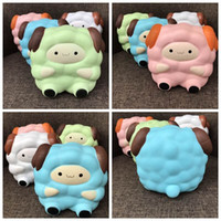 Wholesale Wholesale Sheep Toys - New Jumbo Kawaii Cute Sheep squishy Squeeze Cartoon Slow Rising Bread Scented Kid Toy Gift Wholesale