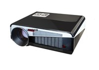 Wholesale Projector 3d Price - Wholesale- Full HD LED86 LCD Projector 3D 220W 5500lumens LED Home Theater moive video Projectors proyector beamer low price
