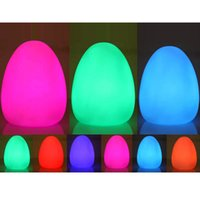 Wholesale Mood Egg - Easter Mood Light Egg Lamp led egg light Party Holiday gift Mood Depress Egg 7 Multi-Color LED Changing decor Night light