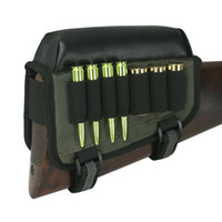 Wholesale hunting ammo - Tourbon Hunting Gun Accessorry Universal Cheek Rest Riser Pad Buttstock Rifle Shotgun Cartridges Ammo Holder- Right Hand
