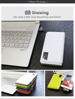Wholesale Banks Usa - High quality WP 928-10000MAH Dual portable power bank external battery emergency charge Built-in micro Cable hot sell in USA market