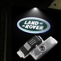 LED Car Door Logo Light para LAND ROVER Range Rover Discovery 34 Freelander 2 Evoque Ghost Shadow Courtesy Laser Lámpara para proyector