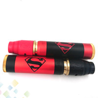 black red deck - Vaporizer Able Superman Kit Come with Able Superman Mod AV RDA AV Battle Deck fit battery AV Able V3 Kit DHL Free