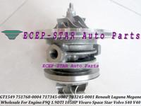 Wholesale opel turbocharger - Turbo CHRA Cartridge GT1549S 751768-5004S 751768 For Renault Laguna Megane Scenic Trafic Opel Movano Vivaro Space Star S40 40 F9Q 1.9L DTI