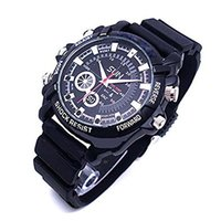 Wholesale Hd Digital Watch - Newest Full 1080P HD W1000 spy camera hidden IR Night Vision watch sharpen micro DVR Camcorders 8GB mini camera