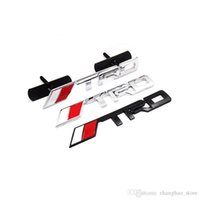 20pc / Lot Car Styling Hood Grille Grill Badge con marchio TRD Emblem Marchi Marchi Argento Colore nero