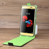 Wholesale Zte Phones Price - HongBaiwei For ZTE A910 Phone Case Pure Color Up-down Open Vertical Flip Premium PU Leather Case Cover Factory Price