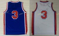 Wholesale Drazen Petrovic Jersey - All Stitched 3 Drazen Petrovic Jerseys Unfiorms Rev 30 New Material Throwback Retro Shirt Home Alternate Blue White With Player Name