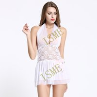 Wholesale Nightdress See Through - white mesh sexy underwear hot sexy pajamas set see-through sex lingerie women intimates sex products nightdress