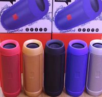 Wholesale Mini Speaker Phone Call - 2017 Free shipping Nice Sound Charge 2+ Bluetooth Outdoor speaker phone call Mini Speaker Waterproof Speakers Can Be Used As Power Bank