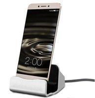 apfel wiege ladung großhandel-Handy-Gebrauch und elektrisches Art Typ-C Dock-Ladegerät, das Sync-Tischplatten-USB-Wiegen-Station für Smartphones auflädt + freies Verschiffen