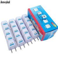 Wholesale universal europe travel adapter resale online - Amvykal Universal Europe Travel AC Power Electrical Plug Socket UK US AU To EU Plug Adapter Converter