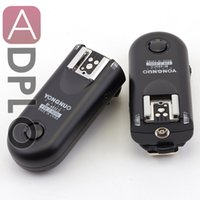 Wholesale Ll Camera - Wholesale- Yongnuo Digital RF 603C ll FSK 2.4GHz Radio Wireless Flash Trigger suit for Canon Cameras