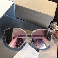 Wholesale Popular Coats - Luxury Sunglasses Popular Summer Style Coating Mirror UV400 Lens Women Designer UV Protection Italian Fashion Cat Eye Designer Come With Box