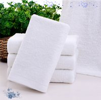 Wholesale Bath disposable grams of white towel absorbent cotton foot bath towel