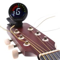 Wholesale Bass Auto Tuner - Top Quality 360degree Mini Auto Clip Guitar Tuner for Chromatic Guitar Bass Violin Ukulele Lowest Price