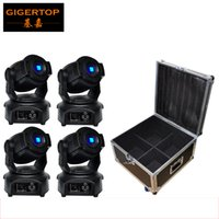 Flight Case 4In1 + 4XLOT 60W Led Moving Head Light, DMX512, China Huiliang Lamp Led Moving Head Gobo 60W führte Bühnenlicht Ausrüstung