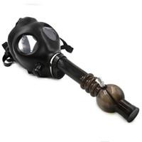 gas mask pipe new smoking pipes gas mask water pipes sealed acrylic hookah pipe bong filter smoking pipe glass bong free shipping