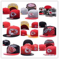 Wholesale Kc Mens - Free Shipping Custom 2017 New Arrival kc Basketball Caps College Football Snapback Hats Mens Adjustable Cheap University Hat