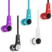 Wholesale Ear Plugs For Mobile - Super Bass Headset with Microphone Earphone 3.5mm Plug for IOS Android Tablet Mobile Phone MK700 MK600 with Retail Box
