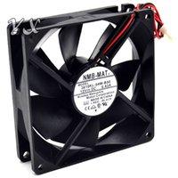 ventilateur 12v 2wire achat en gros de-9025 9cm 12V 3610kl-04w-B50 0.43A Ventilateur à 2 fils à billes NMB