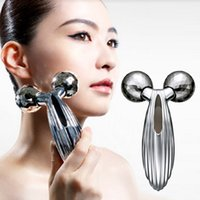 Wholesale Two Lift - Updated Version Solar Refa Carat 3D Refa Face Roller Microcurrent Two Rollers Face Skin Care Massager Face Roller