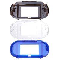 Wholesale Psv Protective Skin - Slim design 3 Colors 18.5 x 9 x2.2 cm Crystal Protect Hard Guard Shell Skin Case Cover For Sony PS Vita PSV