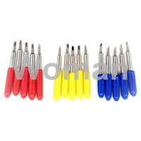 Cutting Plotter Blades blade cutter plotter - 15pcs degree Cutter Knife Blades mm for Roland Cricut Cutting Plotter