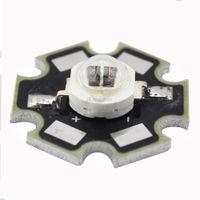 Wholesale Infrared Led Emitter High Power - Wholesale- 5W Infrared IR 940NM High Power LED Bead Emitter DC1.4-1.7V 1400mA w 20mm Star Platine Base