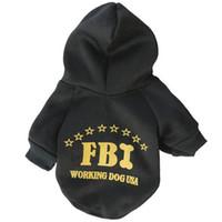 Wholesale Cute Funny Dog Clothes - Fashion Dog Clothes Cute Cartoon Costumes Pet Coat Winter Funny cat Clothing Dogs Cloth Warm Dog Coats Apparel Supplies #FBI16